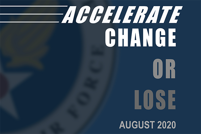 CSAF Strategc Accelerate or Change logo from document